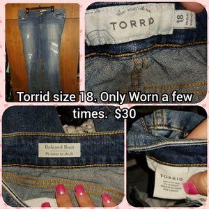 Torrid size 18 bootcut